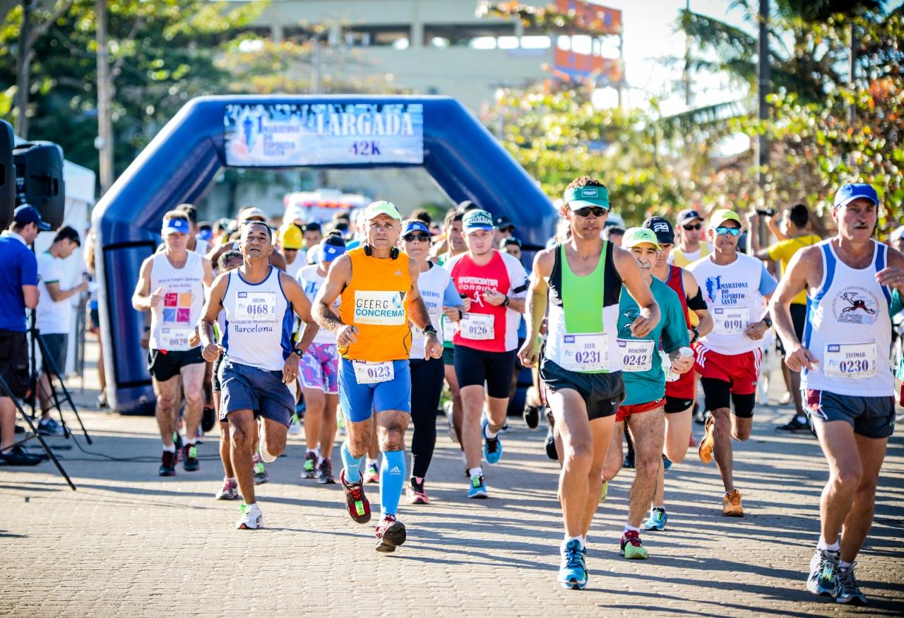 Maratona do Espírito Santo foto divulgação esporte Vix