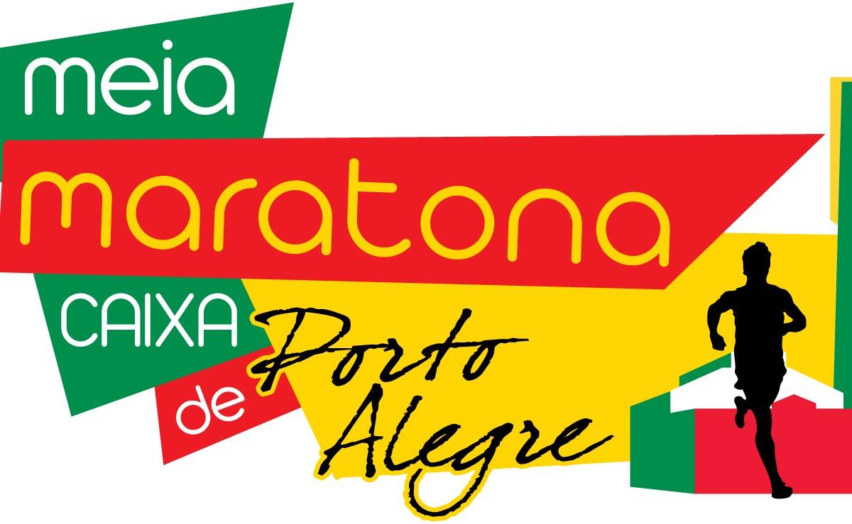 Meia Maratona Internacional Caixa de Porto Alegre Logomarca