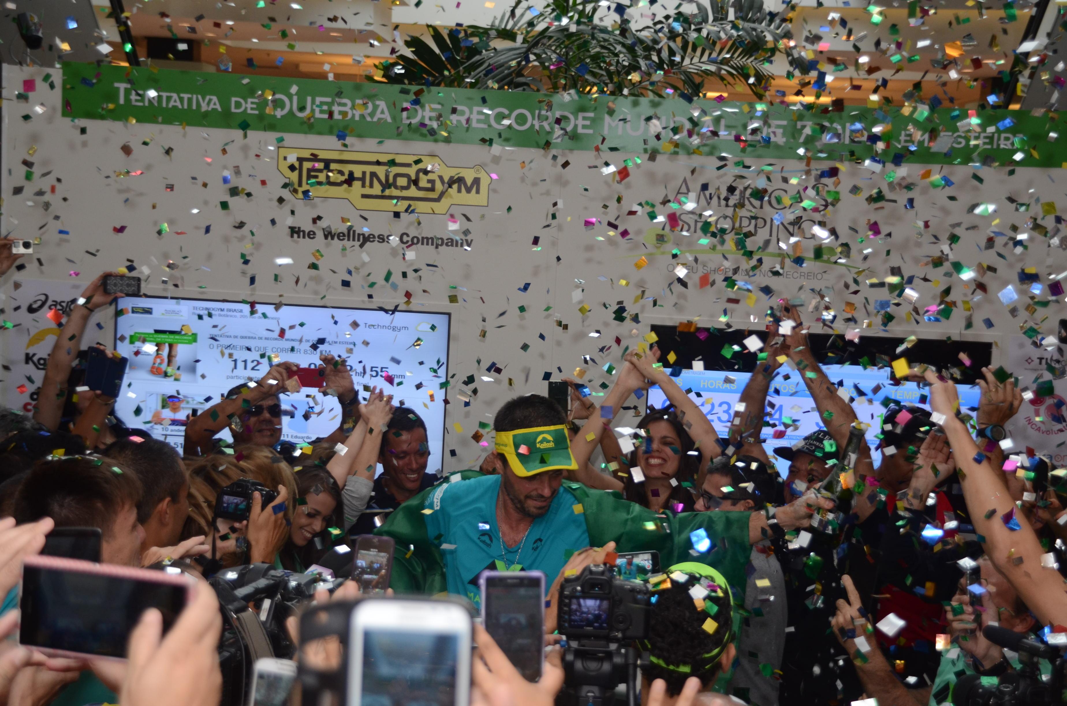 Ultramaratonista brasileiro quebra recorde mundial após correr ...