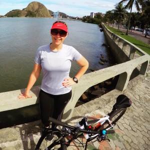 Nos dias OFF, faço passeios de bike