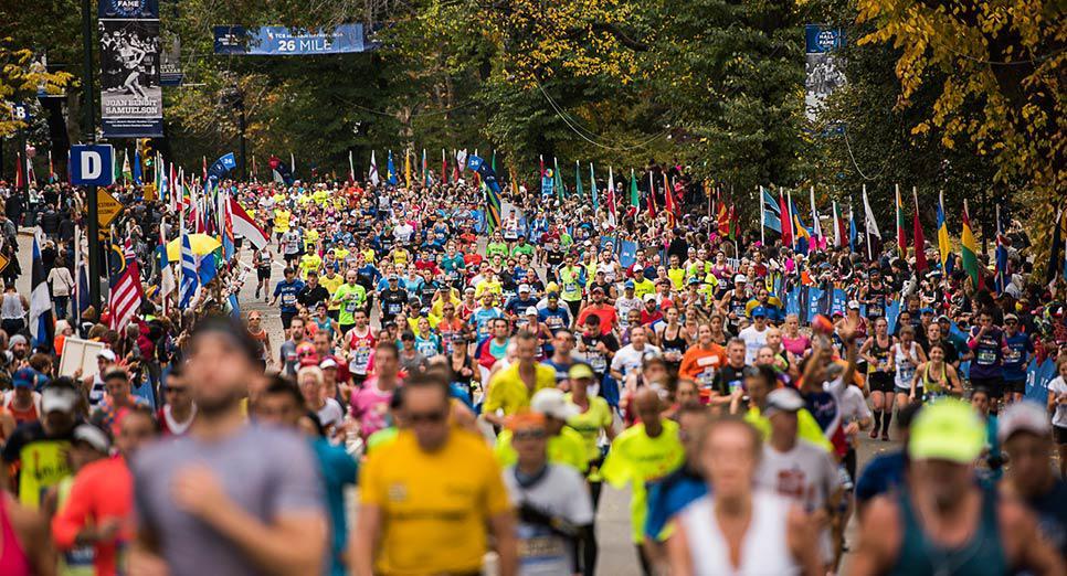 Maratona de Nova York divulgacao