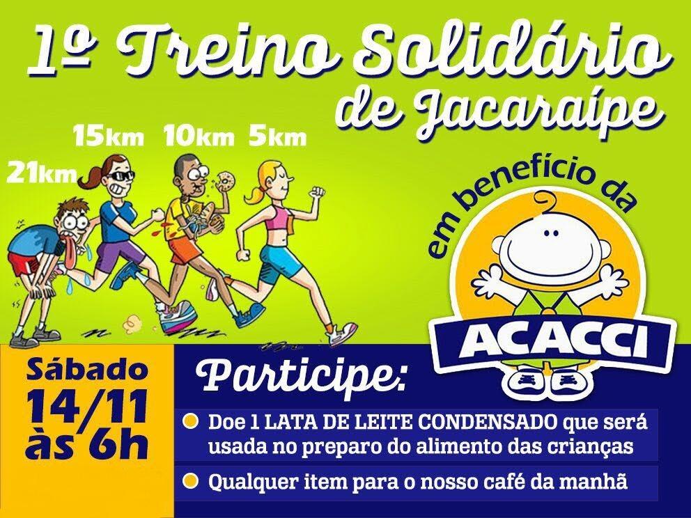 treinão solidário jacaraípe