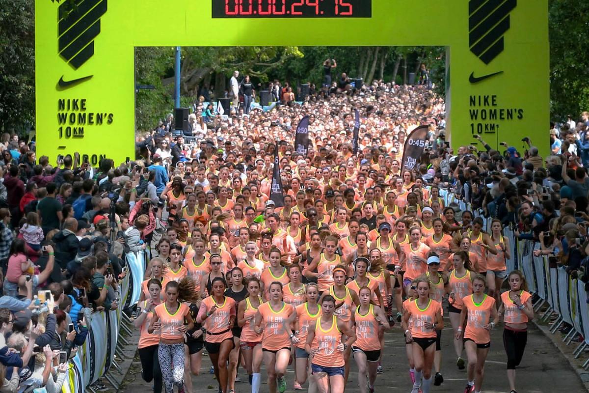 Nike faz meia maratona e treino especial só para mulheres no Rio 51eb204a612