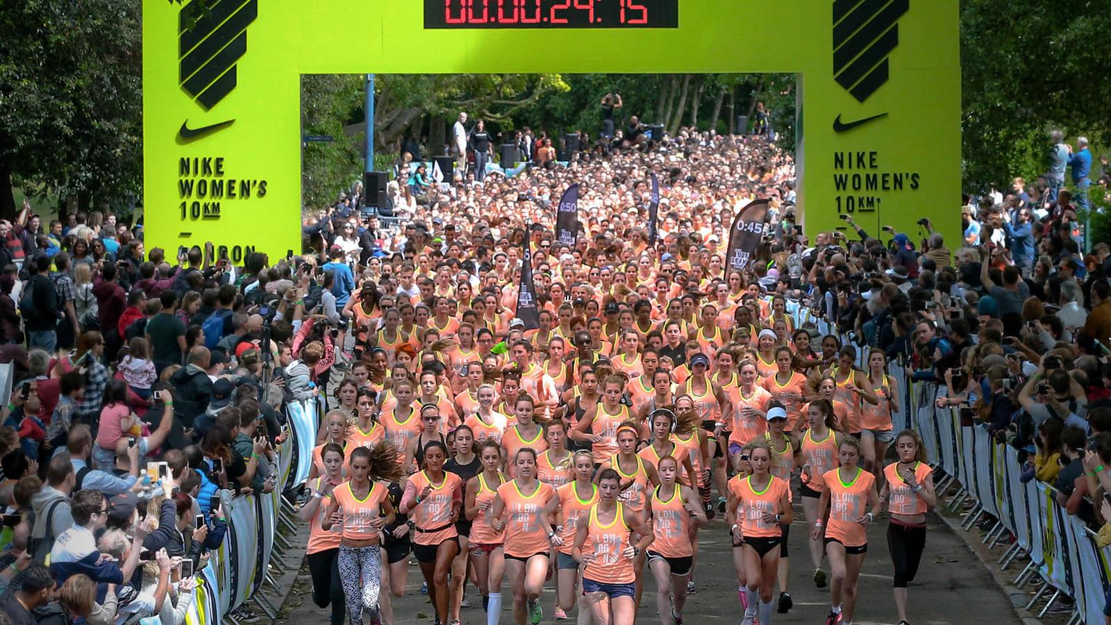 Miga, sua louca! Nike faz meia maratona e treino especial só para ...