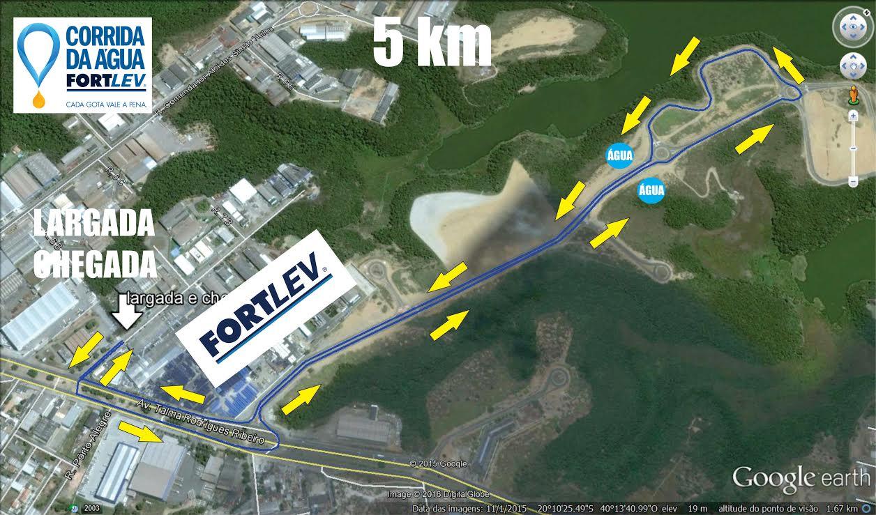 Percurso 5km