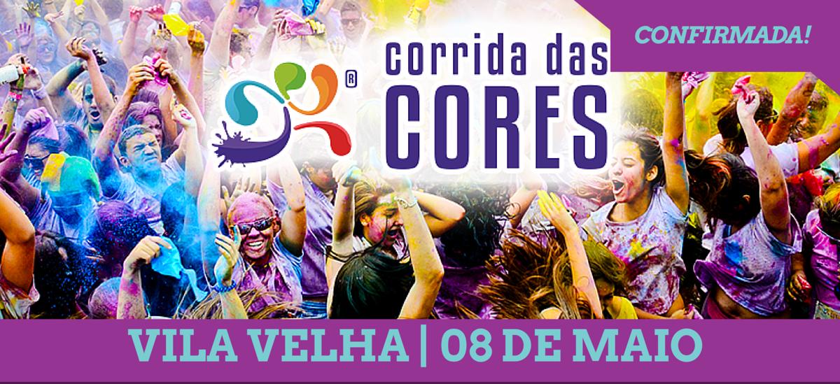 Vem aí mais uma etapa da Corrida das Cores em Vila Velha ...