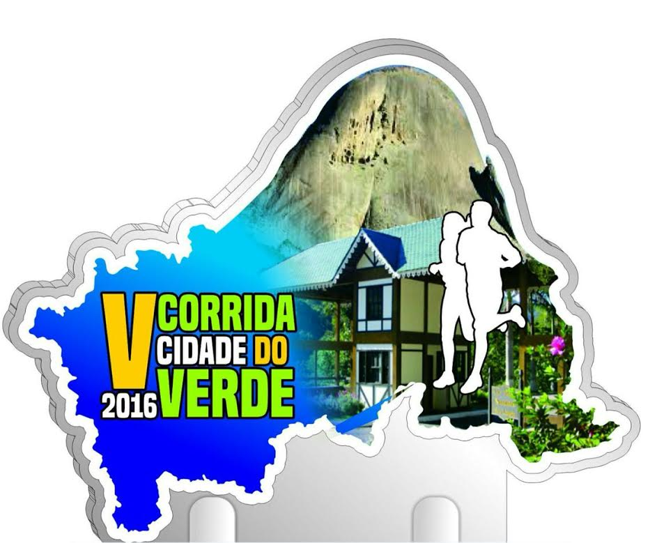 Logomarca Corrida Cidade do Verde de Domingos