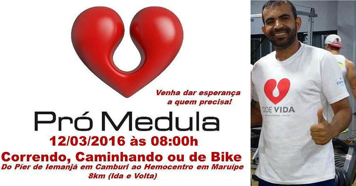 Marcos Ladislau ultramaratonista doação de medula óssea