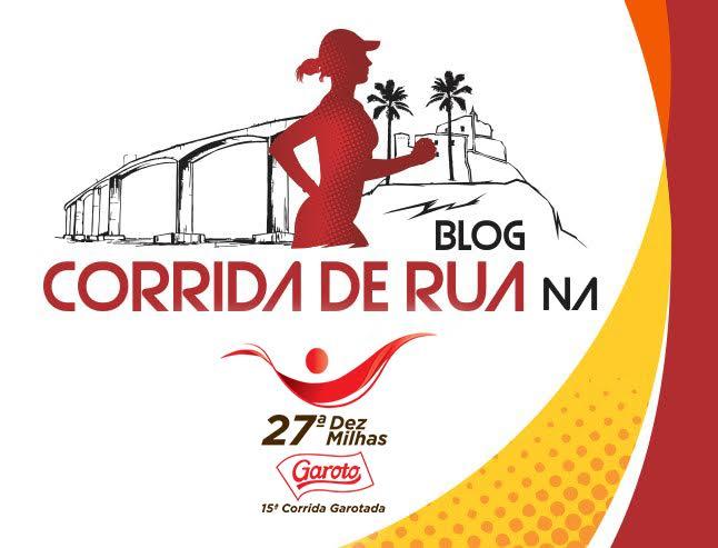 Logomarca Blog Corrida de Rua na Dez Milhas Garoto