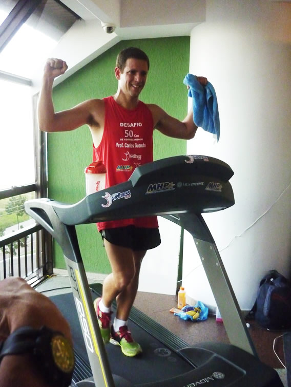 Ultramaratonista Carlos Gusmão