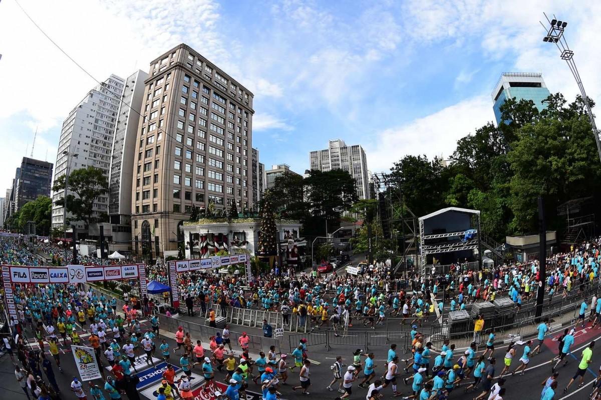 Corrida de São Silvestre - Crédito - Djalma Vassão - Gazeta Press