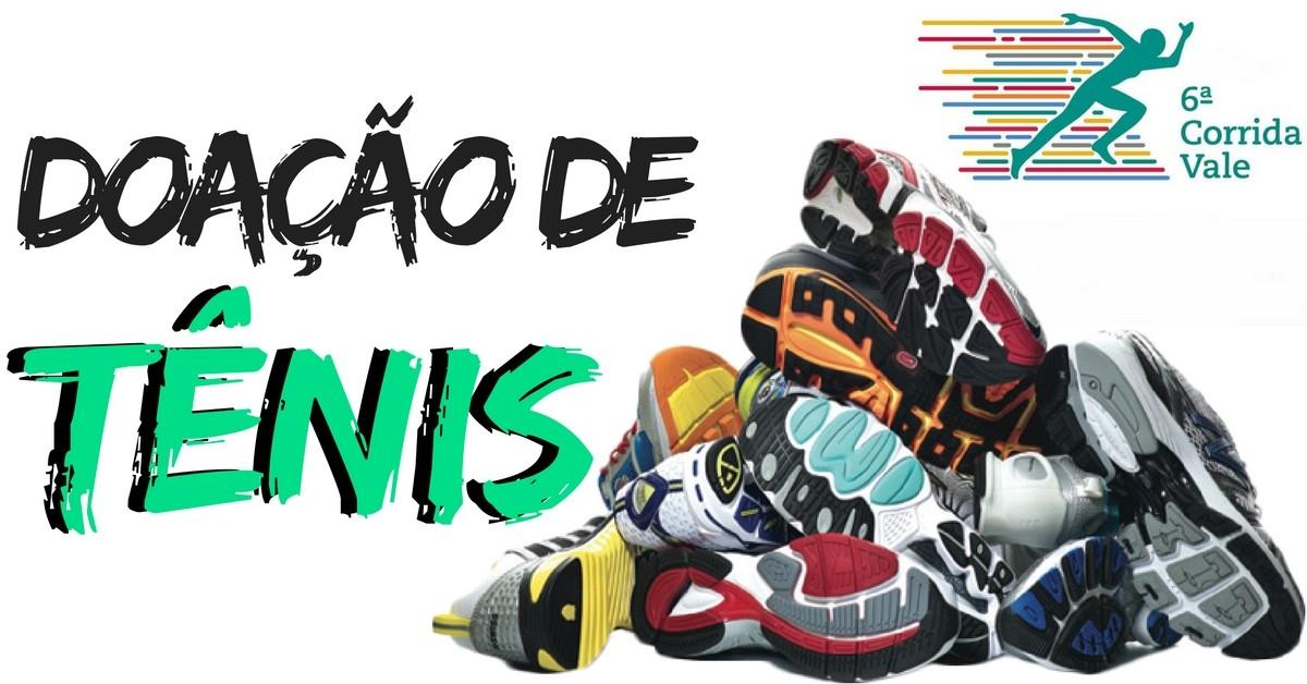 doação de tênis!
