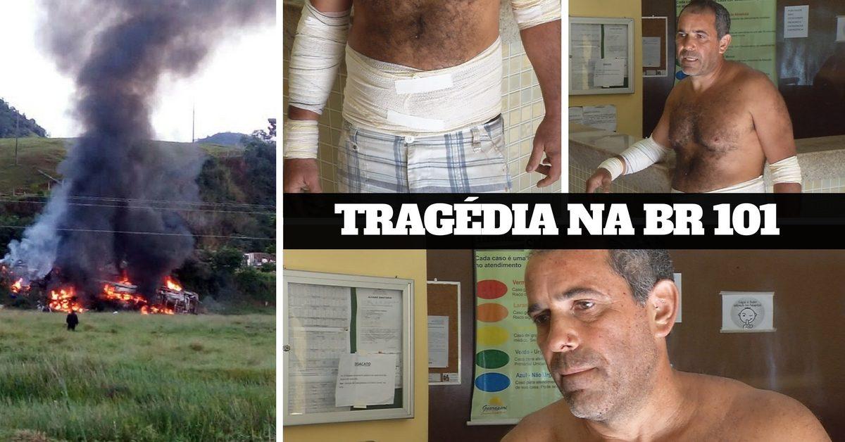 Ultramaratonista sobrevive à tragédia que matou 22 pessoas no maior acidente rodoviário no Espírito Santo