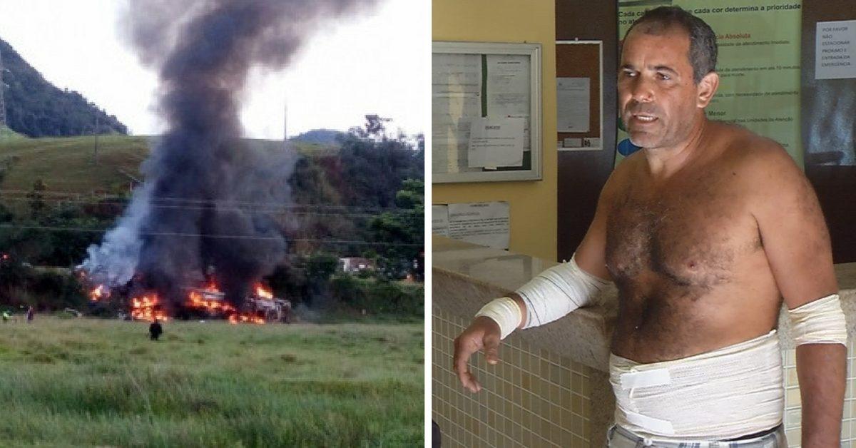 Corredor que sobreviveu ao acidente que matou 23 pessoas no ES se recupera bem