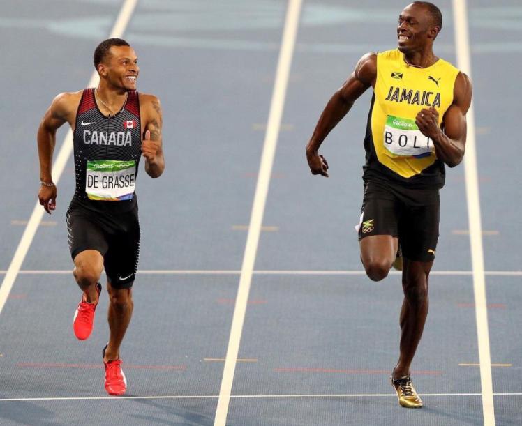 Canadense se diz pronto para vencer Bolt no Mundial de Atletismo de Londres