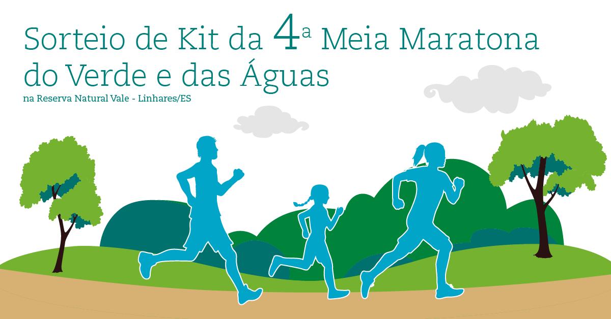 Sorteio de Kit da Meia Maratona do Verde e das Águas