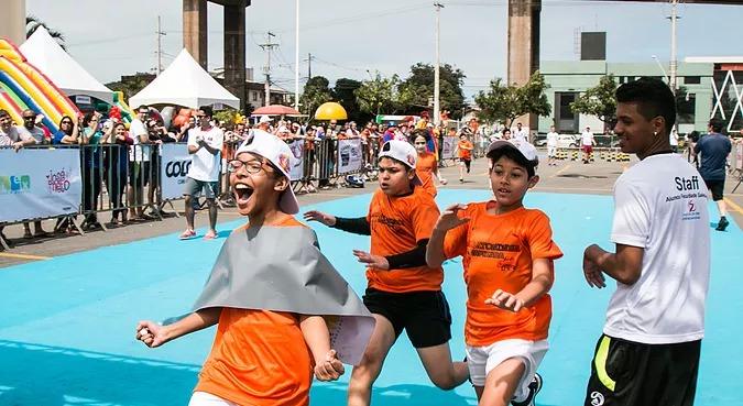 Maratoninha Capixaba vai colocar a criançada para correr no Shopping Vitória