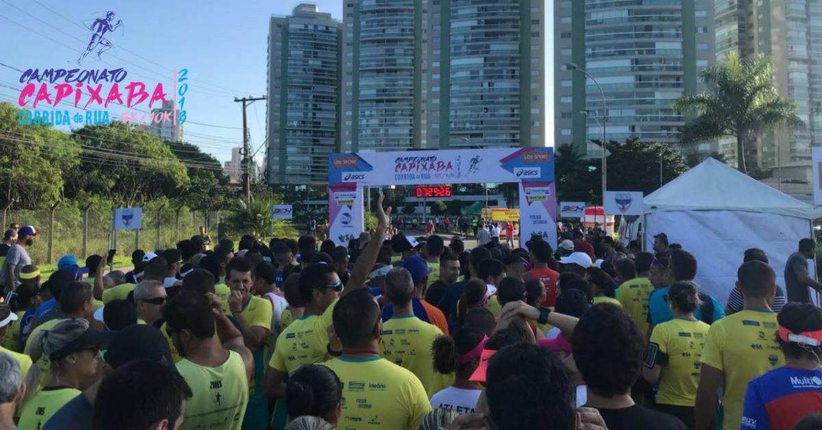 Campeonato Capixaba de Corrida de Rua começa a definir os corredores mais rápidos do Espírito Santo