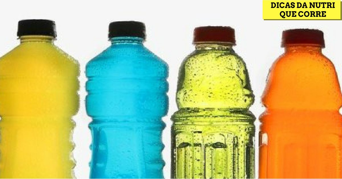 Dicas da Nutri que Corre: Isotônicos. Quando consumir?!
