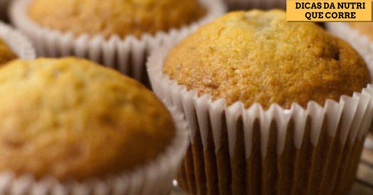 Dicas da Nutri que Corre: Receitas de cupcakes proteicos