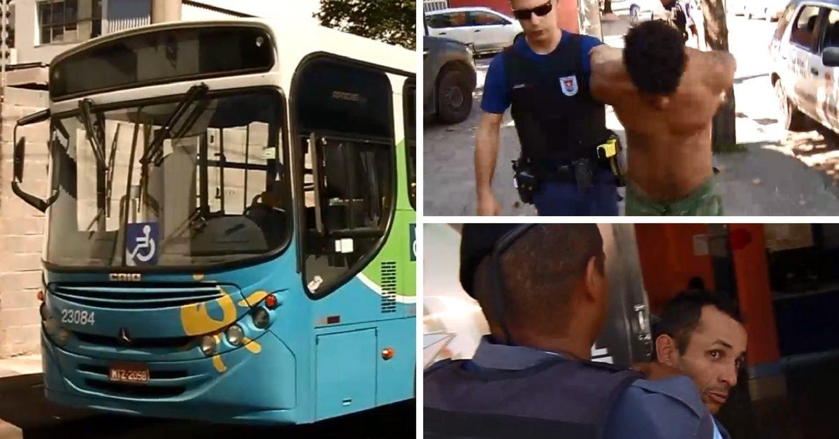 Corredor é roubado em ônibus, persegue bandidos e recupera celulares em Vitória