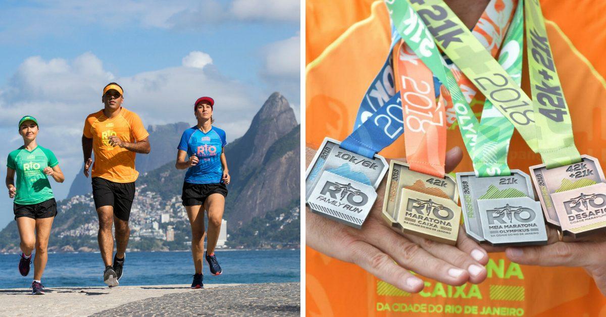 Maratona do Rio divulga camisas e medalhas que vão vestir e premiar 38 mil corredores