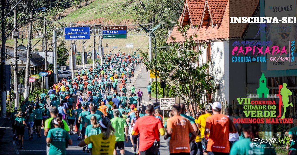 Campeonato Capixaba de Corrida de Rua sobe as montanhas e realiza 2ª etapa na Cidade do Verde. Inscreva-se!