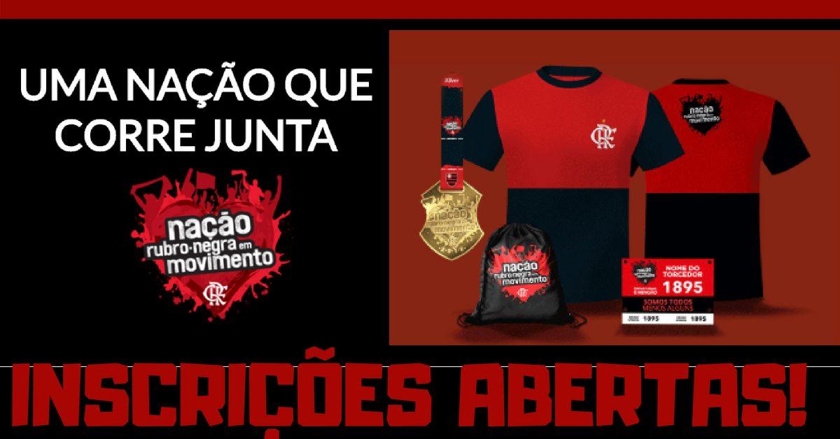 Inscrições abertas: Flamengo quer colocar 10 mil torcedores para correr no gramado do Maraca!