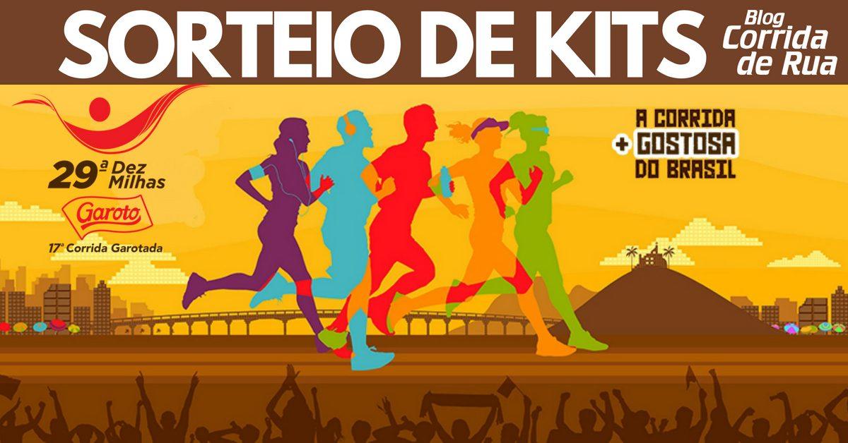Reta final de inscrições da Dez Milhas Garoto! Participe do sorteio de kits