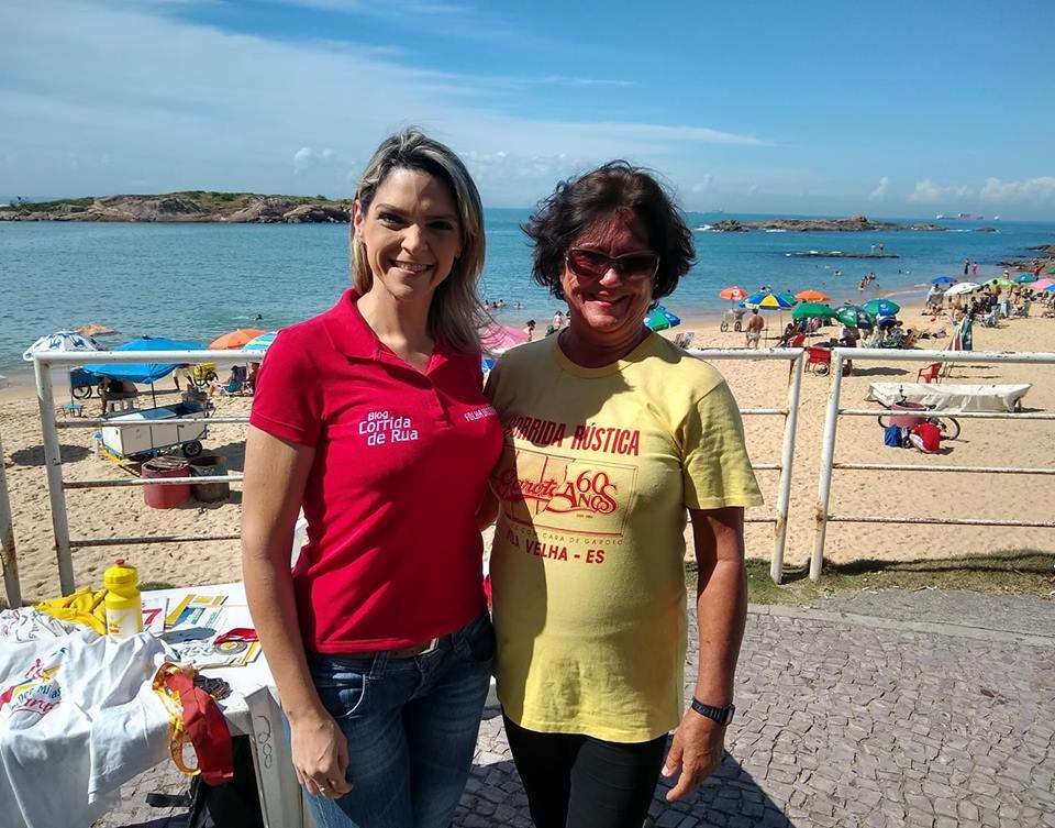 Apaixonada pela Dez Milhas Garoto, Aureny Simões participou de todas as edições da prova