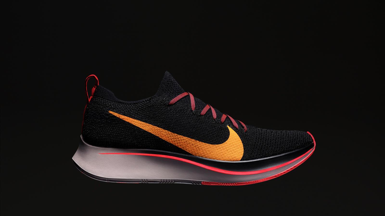 pretty nice d3a2c 3c68a Nike Zoom Vaporfly 4% Flyknit – O queridinho de atletas de elite, como o  maratonista mais rápido de todos os tempos Eliud Kipchoge, traz como  principal ...