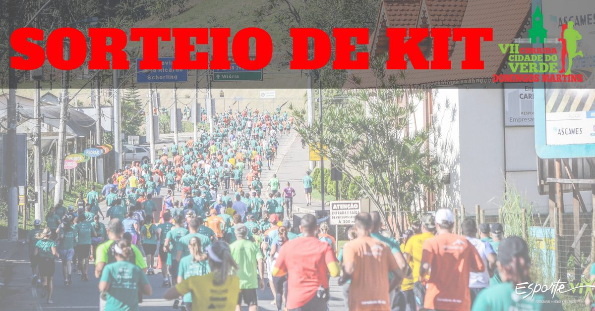 Corram para as montanhas! Sorteio de kit para a VII Corrida Cidade do Verde, em Domingos Martins