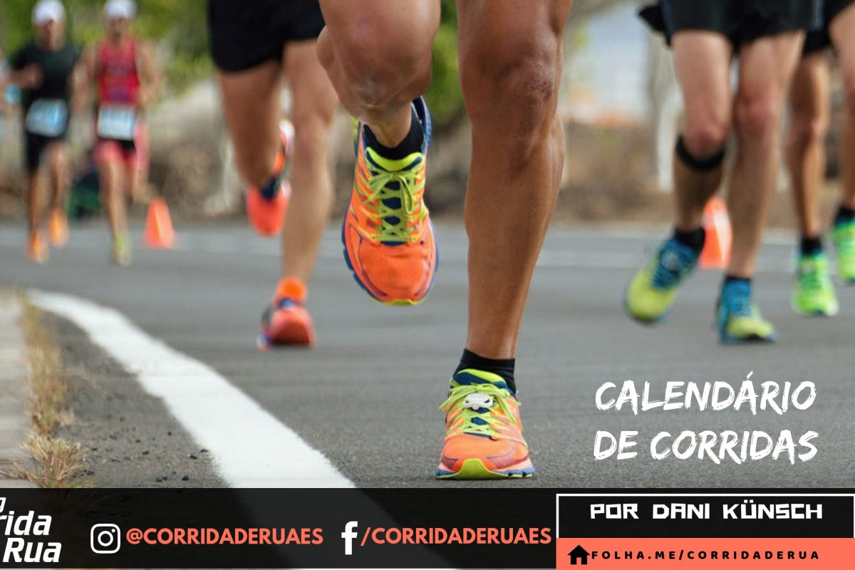 Calendário traz a maior prova de 16k do país, a maior meia do ES e o maior circuito de corridas da América Latina