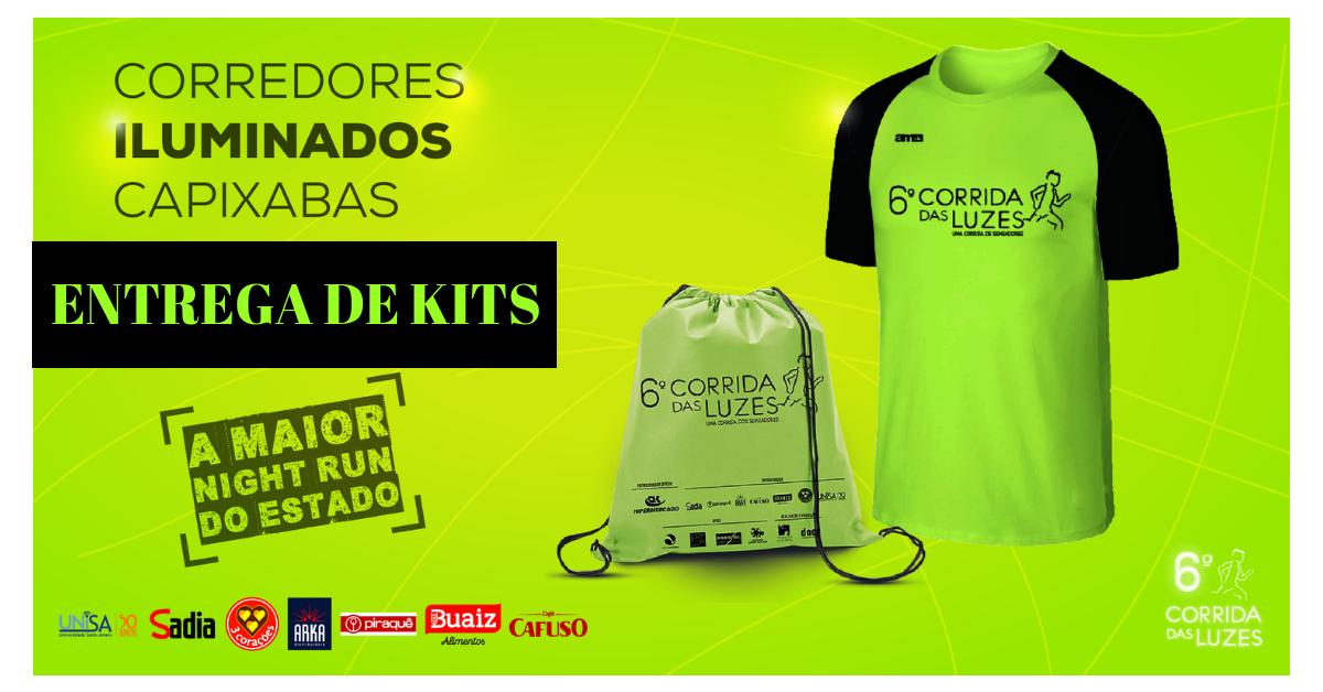 Vá buscar a sua camisa que acende! Entrega de kits da Corrida das Luzes começa nesta 6ª feira