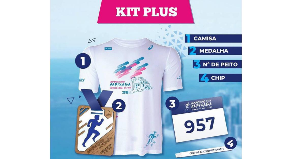 Campeonato Capixaba de Corrida de Rua apresenta camisa que vai vestir os campeões de 2018