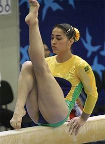 Daniele Hypolito é a mais experiente das ginastas. (Foto: Divulgação)