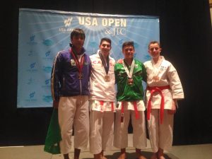 3º lugar no Junior International Cup Kata