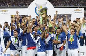 Cruzeiro é o atual campeão brasileiro. (Foto: Divulgação)