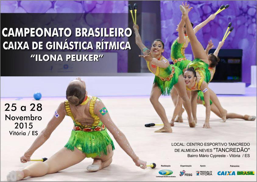 Vitória vai receber o Campeonato Brasileiro de Ginástica Rítmica ...