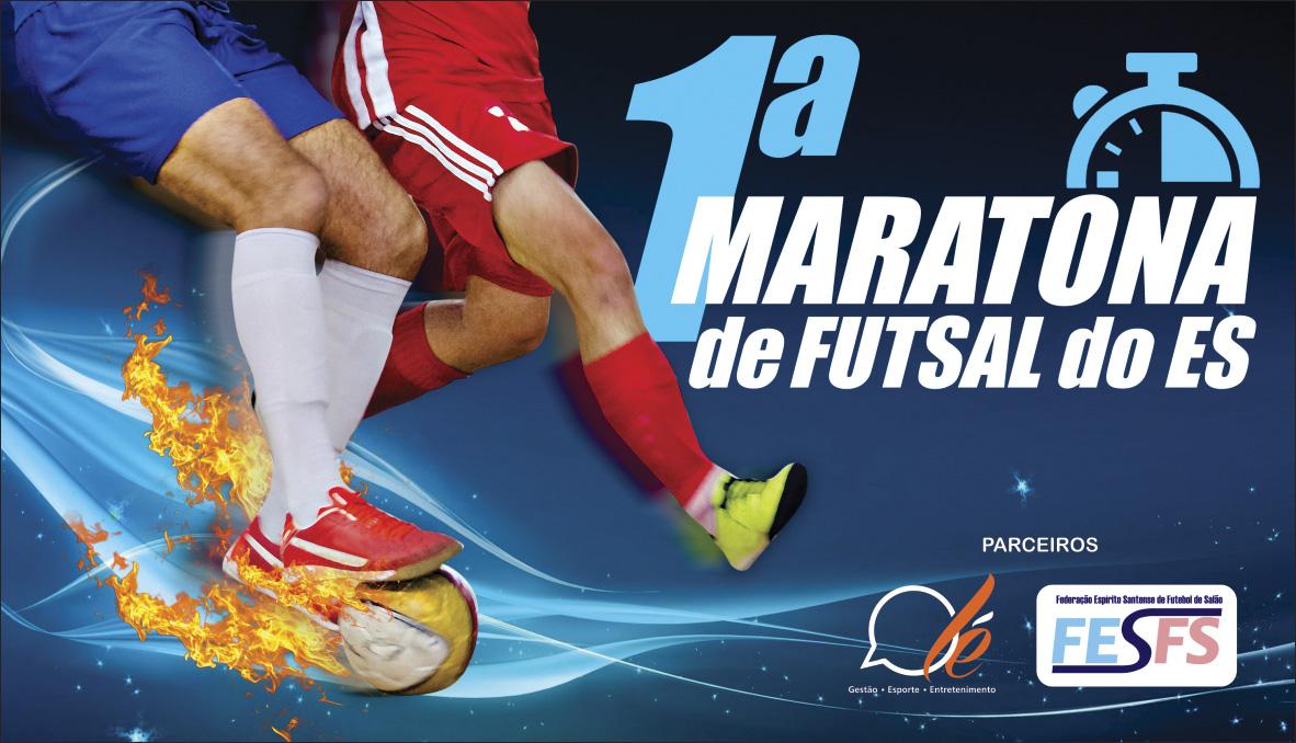 Vem aí a novidade esportiva do ano: 1ª Maratona de futsal do ...