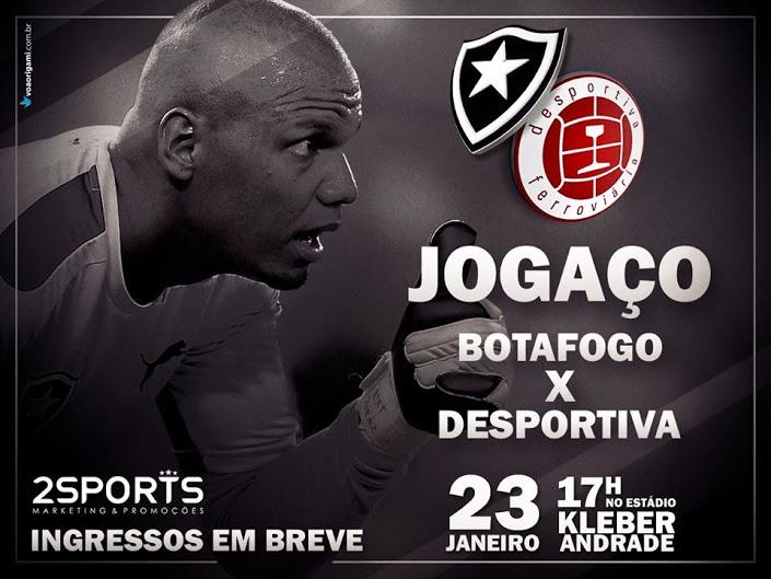 Fogão no ES: Botafogo enfrenta a Desportiva em janeiro - Louca ...