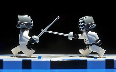 A galera de Star Wars também luta por  vagas nas Olimpíadas no tênis de mesa, atletismo e esgrima