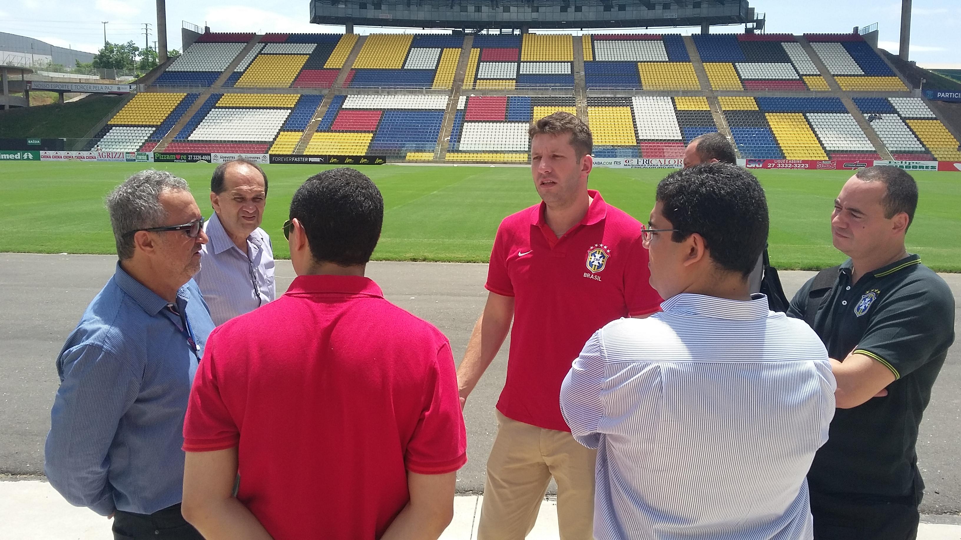 Confirmou: seleção olímpica brasileira vai jogar amistoso no Kleber ...