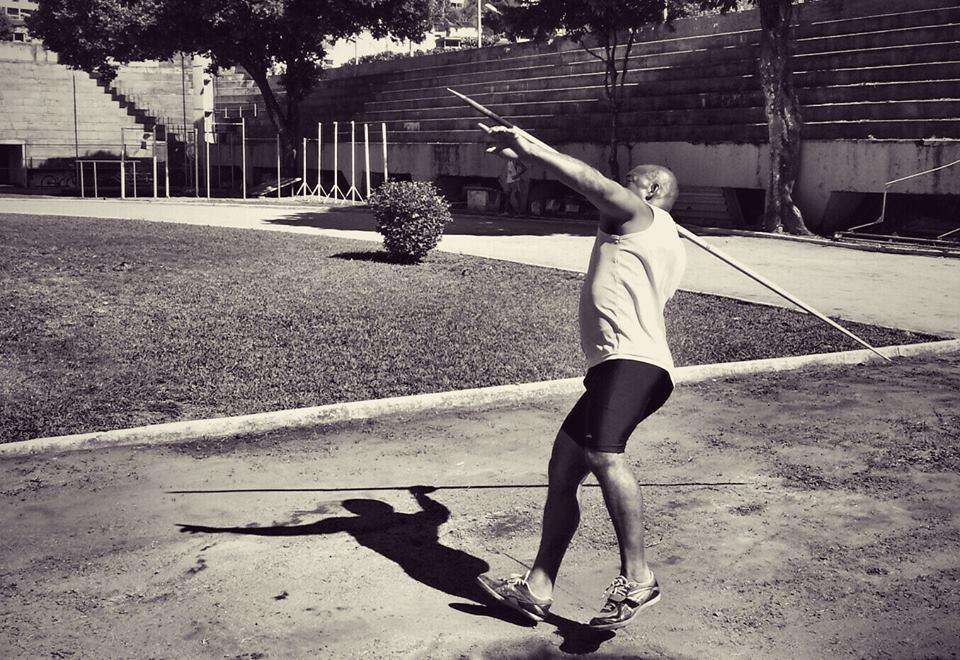 Lucio Mauro Crizanto é um dos atletas do núcleo de atletismo do Ifes que viajarão para Curitiba. (Foto: Marcio Geraldo)