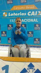 Tiozinho retornou com três bronzes