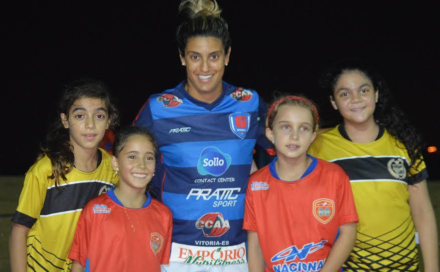 Noele Bastos é referência para a garotada. (Foto: Divulgação)