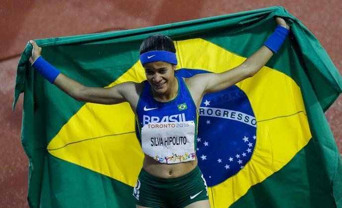 """Verônica Hipólito e revezamento 4 x 100m fazem o """"dia das ..."""