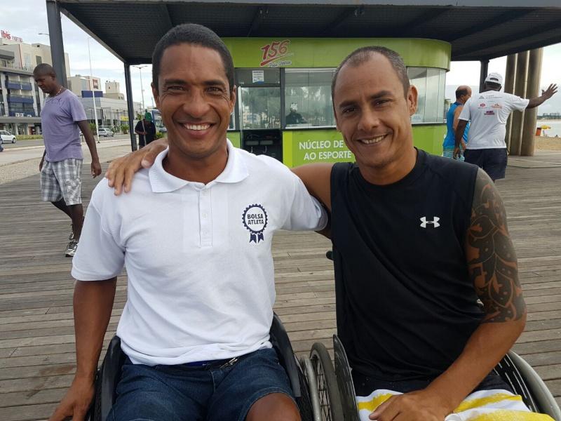 Marquinhos e Tiozinho aprovaram a mudança do projeto para Camburi.