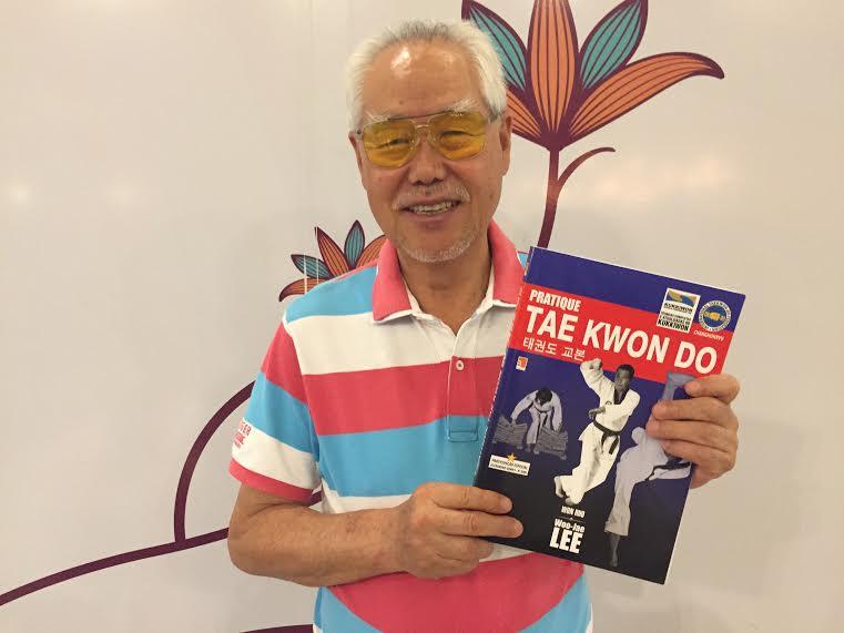 Mestre Woo-Jae Lee , um dos pioneiros do taekwondo no Brasil, lança livro em Vitória nesta segunda-feira (6)