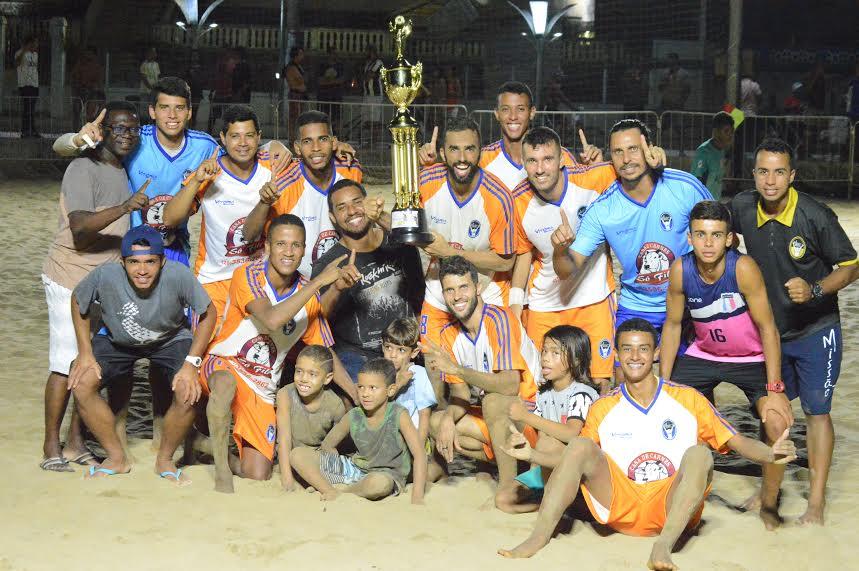 CTM goleia Rio Branco e fatura o título da Copa dos Campeões de Beach Soccer